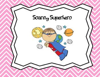 Behavior Clip Chart - Superheros