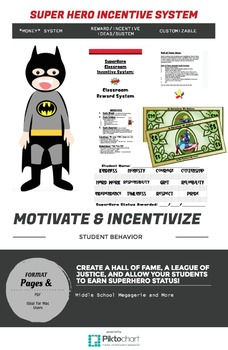 Superhero Behavior & Incentive Program (modifiable)