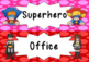 Superhero Behaviour/ Behavior Reward Peg Chart
