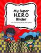Superhero Binder Cover [Editable]