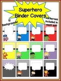 Superhero Binder Covers