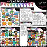 Superhero Clip Art Bundle (3 Sets) - Superhero Kids