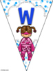 Superhero Bunting Banners Pennants Welcome Reading Writing Math