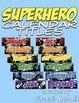 Superhero Calendar BUNDLE!