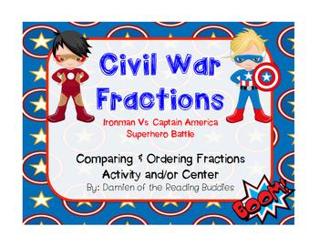 Superhero Civil War Fractions