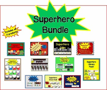 Superhero Classroom Bundle