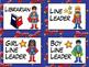 Superhero Classroom Jobs, Classroom Helpers