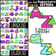 Superhero Clip Art BUNDLE- Superhero Letters, Numbers, & S