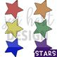 Superhero Clipart {Stars}