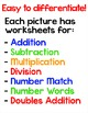Superhero Theme Math Facts Differentiated Activities - Mat