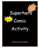 Superhero Comic Activity