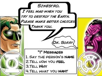 Superhero Conflict Resolution: I Messages
