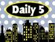 Superhero Daily 5 Rotation Chart -UPDATED