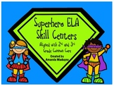 Superhero ELA Skill Centers