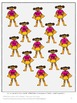 Superhero File Folder Games Centers and Station Activities