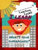 Back to School Superhero Folders and Activities