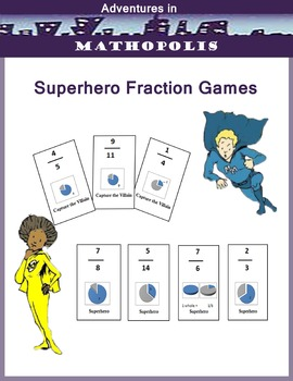 Superhero Fraction Game