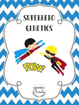 Superhero Genetics (Monohybrid Crosses with Superheroes)