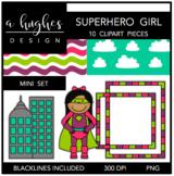 Superhero Girl Mini Set {Graphics for Commercial Use}