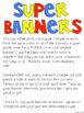 Superhero Grade Level Banner