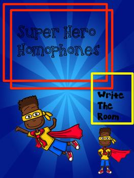 Superhero Homophones