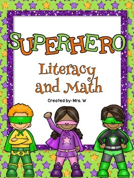 Superhero Literacy and Math