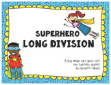 Superhero Long Division (Using Playing Cards)