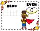 Superhero Math Posters - Numbers 0-20
