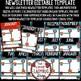 Editable Newsletter Templates - Superhero Theme