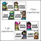 Superhero Name Tags {Editable}