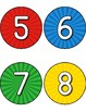 Superhero Number Line 1-20