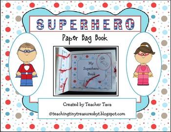 Superhero Paper Bag Book