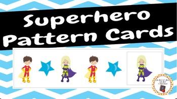 Patterns: Superhero Pattern Cards - set 2