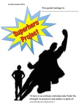 Superhero Project - Ecology Project Next Generation Standards