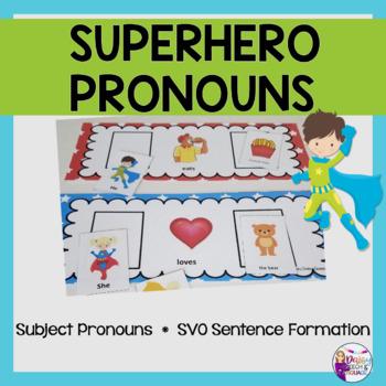 Superhero Pronouns and More