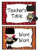 Superhero Reading Center Signs