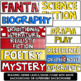 Superhero Reading Genres and Labels - Editable
