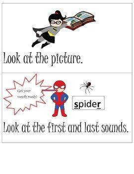 Superhero Reading Strategies