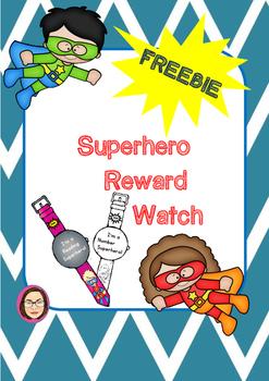 Superhero Reward Watch
