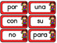 Superhero SPANISH Sight Words