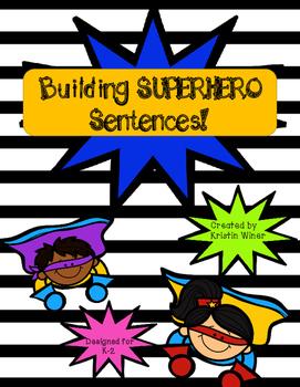 Superhero Sentences!