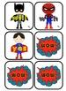 Superhero Sight Words: Primer
