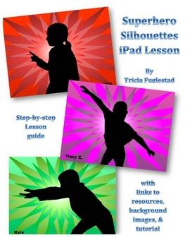 Superhero Silhouette: iPad Art and Character Education Gra