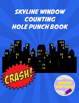Superhero Skyline Hole Punching #1-10