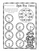 Superhero - Spin the Time: Telling time to the :00 (o'cloc