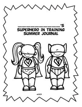 Superhero Summer Journal