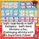 Superhero Task Card Choice Board for Fast Finishers