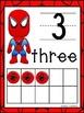 Superhero Tens Frames