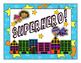 Superhero Theme-Behavior Clip Chart
