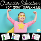 Superhero Theme- Character Education Posters- 40 Traits Included!
